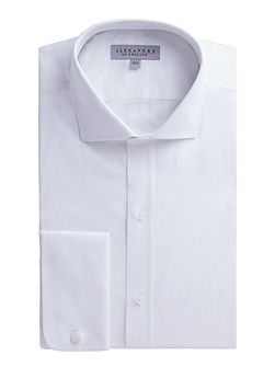 White Twill Stripe Shirt