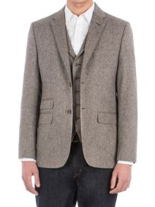 Racing Green Lindean Taupe Speckle Jacket