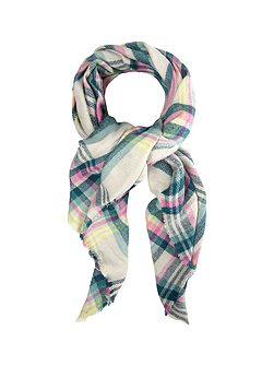 Cara Check Midweight Scarf