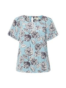 White Stuff Aegean Floral Top