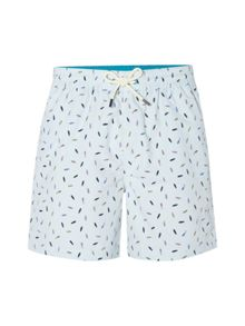 White Stuff Shark swim shorts