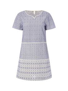 White Stuff All Over Embroidered Tunic