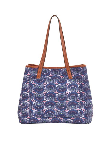 White Stuff Mexican Flower Tote