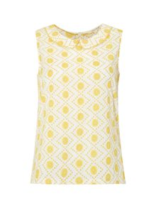 White Stuff Casa Daisy Chain Vest