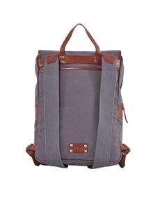 White Stuff Dave canvas rucksack