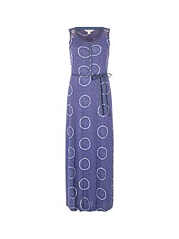 Mexico City Jersey Maxi Dress