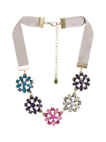 Deco Flower Necklace