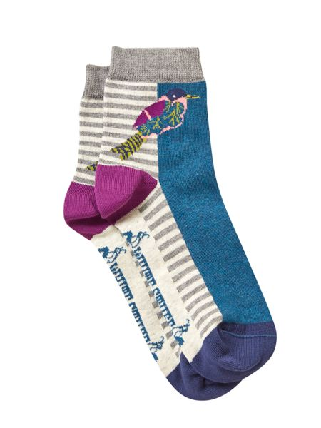 White Stuff Frida Bird Sock