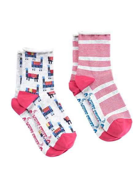 White Stuff Llama 2 Pack Sock