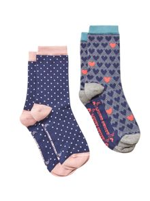 White Stuff Sweetheart 2 Pack Sock