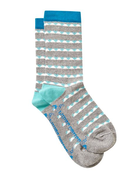 White Stuff Love Line Sock