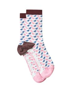 White Stuff Lurex Birdie Sock