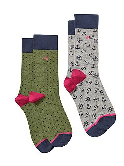 Anchor wheel 2 pack sock