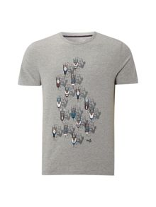 White Stuff Cyclists graphic tee