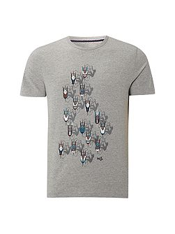Cyclists graphic tee