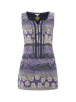 Raisin Jersey Vest Tunic