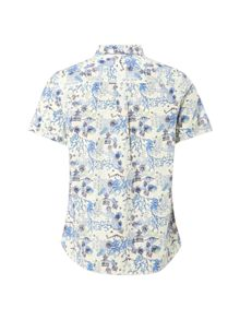 White Stuff Pagoda printed ss shirt
