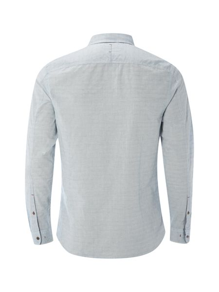 White Stuff Bakar dobby Long Sleeve shirt