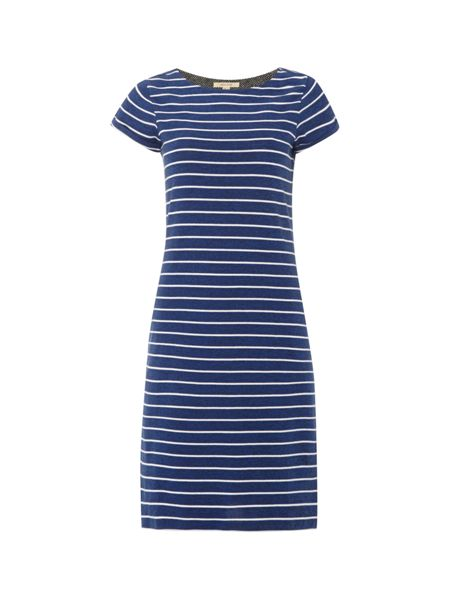 White Stuff Stripe To Stripe Jersey Dress