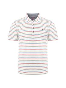 White Stuff Tool stripe polo