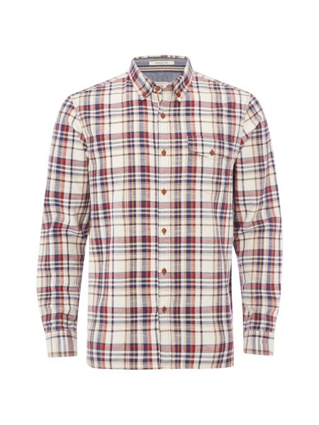 White Stuff Barn owl check shirt