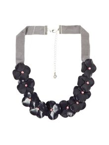 White Stuff Delphine Flower Necklace