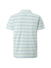 White Stuff Dual pique stripe polo