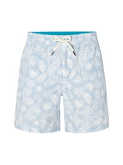 Tropical leaves swim shorts