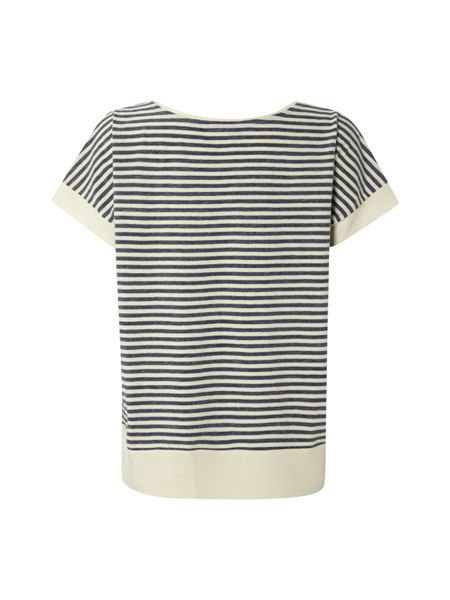 White Stuff Antiqua Stripe Jersey Tee