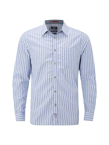 White Stuff Skua stripe ls shirt