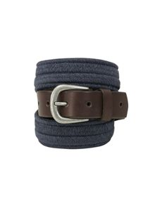 White Stuff Elastic Leather Belt