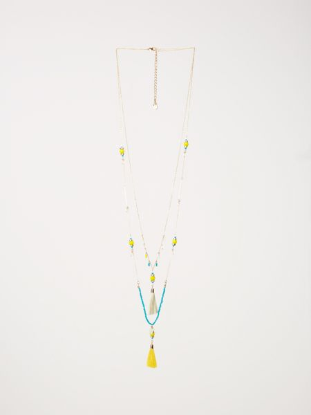 White Stuff Adriana Double Layer Necklace