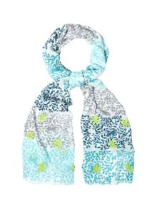 White Stuff Royal Butterfly Scarf