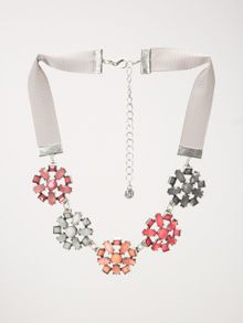 White Stuff Deco Flower Necklace