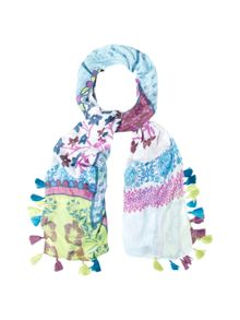 White Stuff Elephant Placement Scarf