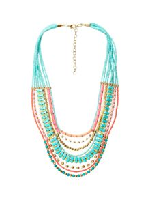 White Stuff Mexicana Neon Necklace