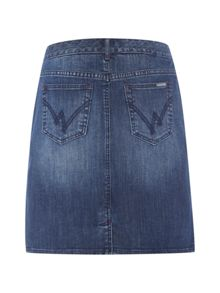White Stuff Country Walk Denim Skirt