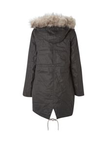 White Stuff Field Parka Waxy
