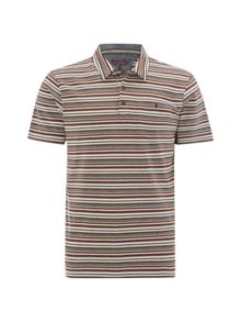 White Stuff Bamboo stripe polo