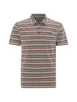 Bamboo stripe polo
