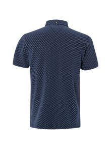 White Stuff Jacquard spot polo