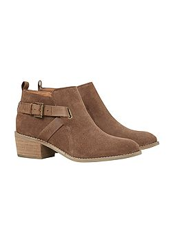 Fern Block Heeled Ankle Boot