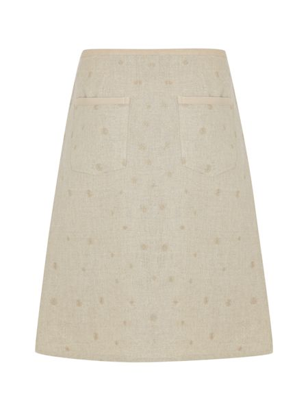 White Stuff Hiccup Embroidered Skirt