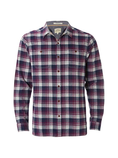 White Stuff Elbert check ls shirt