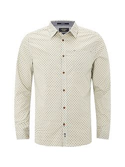 Gig Geo Print Long Sleeve Shirt