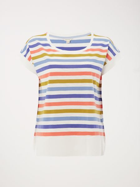 White Stuff Betty Stripe Jersey Tee