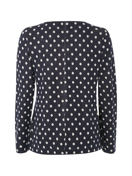 White Stuff All About Spot Jersey Tee