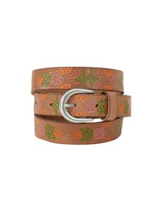 White Stuff Floral Emboss Belt