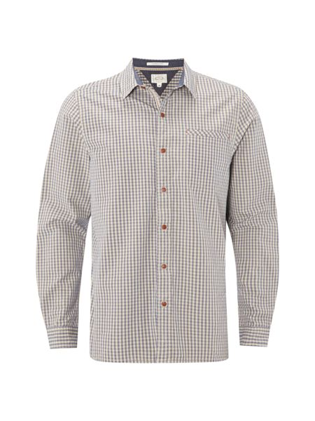 White Stuff Quartz grindle check ls shirt