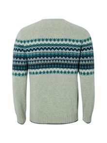 White Stuff Corvo Chest Pattern Knit